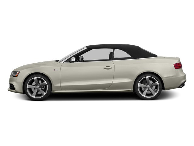 Ice Silver Metallic 2013 Audi S5 Pictures S5 Convertible 2D S5 Prestige AWD photos side view