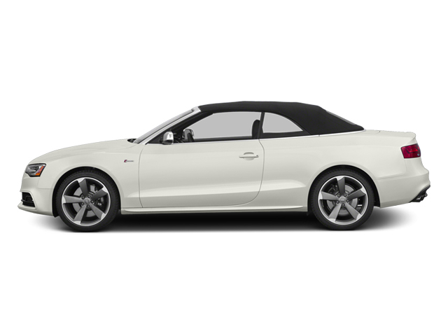 Ibis White 2013 Audi S5 Pictures S5 Convertible 2D S5 Prestige AWD photos side view
