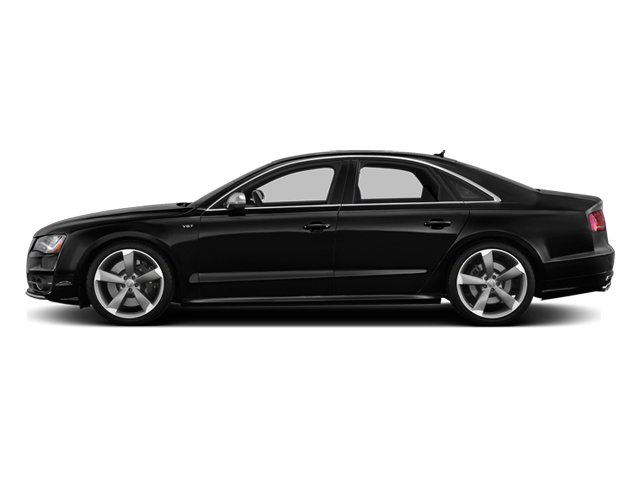 Phantom Black Pearl 2013 Audi S8 Pictures S8 Sedan 4D S8 AWD photos side view