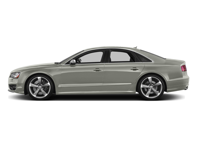 Prism Silver Crystal 2013 Audi S8 Pictures S8 Sedan 4D S8 AWD photos side view