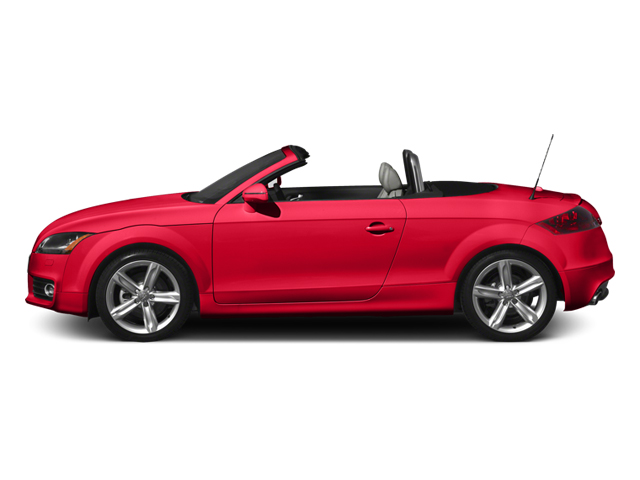 Misano Red Pearl 2013 Audi TTS Pictures TTS Roadster 2D Prestige AWD photos side view