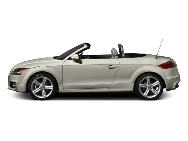 Ice Silver Metallic 2013 Audi TTS Pictures TTS Roadster 2D Prestige AWD photos side view