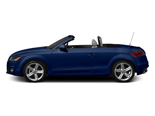 Scuba Blue Metallic 2013 Audi TT Pictures TT Roadster 2D Prestige AWD photos side view