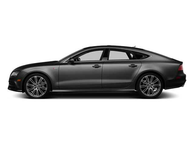 Daytona Gray Pearl 2013 Audi A7 Pictures A7 Sedan 4D 3.0T Prestige AWD photos side view