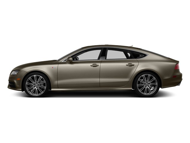 Dakota Gray Metallic 2013 Audi A7 Pictures A7 Sedan 4D 3.0T Premium Plus AWD photos side view