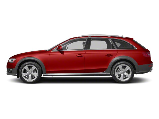 Volcano Red Metallic 2013 Audi allroad Pictures allroad Wagon 4D Prestige AWD photos side view