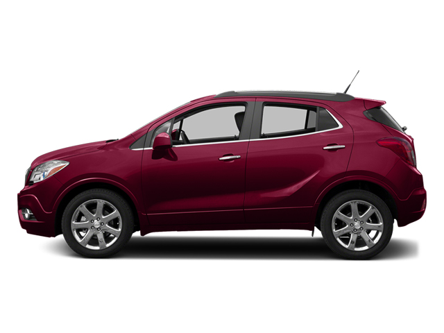 Ruby Red Metallic 2013 Buick Encore Pictures Encore Utility 4D AWD I4 Turbo photos side view