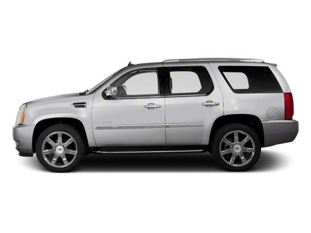 Radiant Silver Metallic 2013 Cadillac Escalade Pictures Escalade Utility 4D Luxury 2WD photos side view