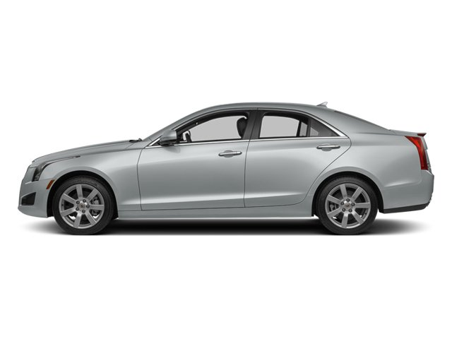 Radiant Silver Metallic 2013 Cadillac ATS Pictures ATS Sedan 4D Luxury photos side view