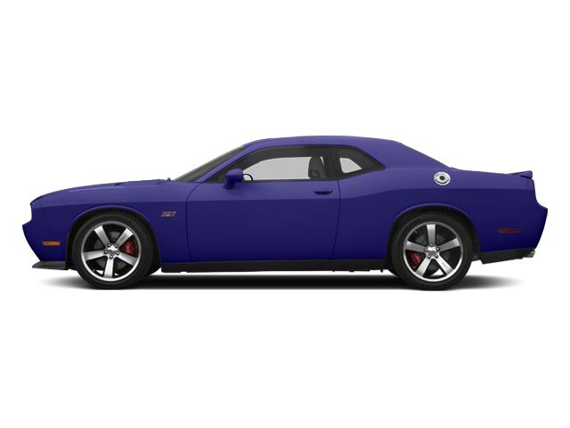 Plum Crazy Pearl 2013 Dodge Challenger Pictures Challenger Coupe 2D SRT-8 V8 photos side view