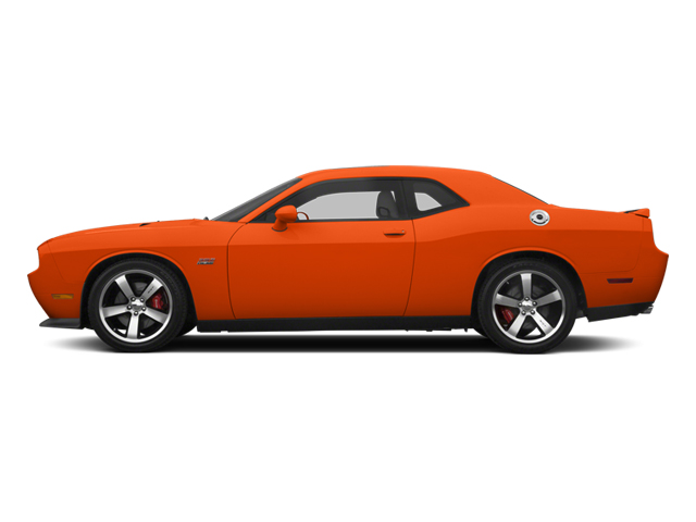 Hemi Orange Pearl 2013 Dodge Challenger Pictures Challenger Coupe 2D SRT-8 V8 photos side view