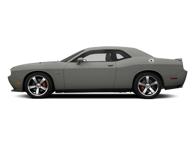 Billet Silver Metallic 2013 Dodge Challenger Pictures Challenger Coupe 2D SRT-8 V8 photos side view