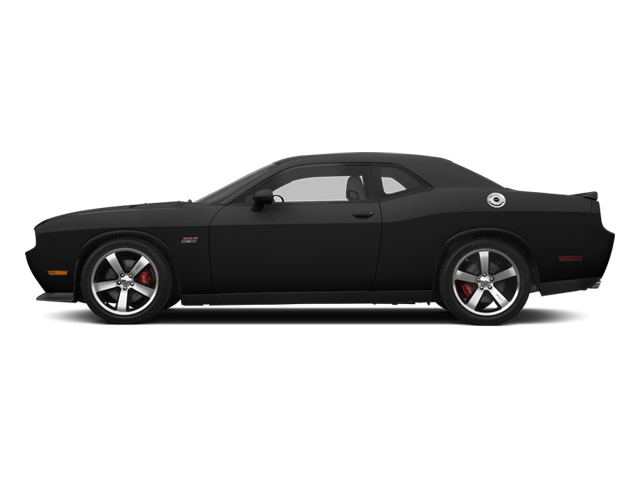 Black 2013 Dodge Challenger Pictures Challenger Coupe 2D SRT-8 V8 photos side view