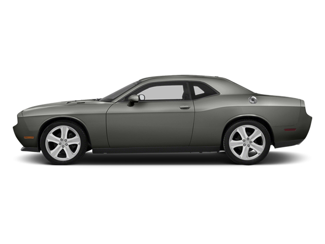 Billet Silver Metallic 2013 Dodge Challenger Pictures Challenger Coupe 2D R/T V8 photos side view