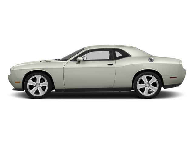 Bright White 2013 Dodge Challenger Pictures Challenger Coupe 2D R/T V8 photos side view