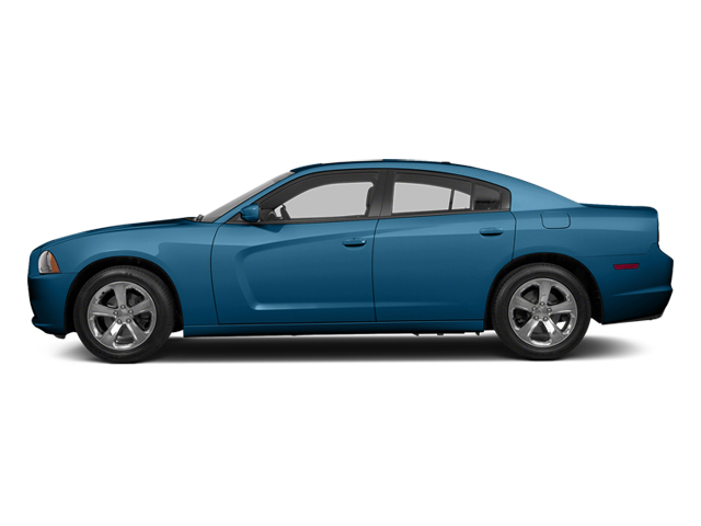 Jazz Blue Pearl 2013 Dodge Charger Pictures Charger Sedan 4D R/T AWD V8 photos side view
