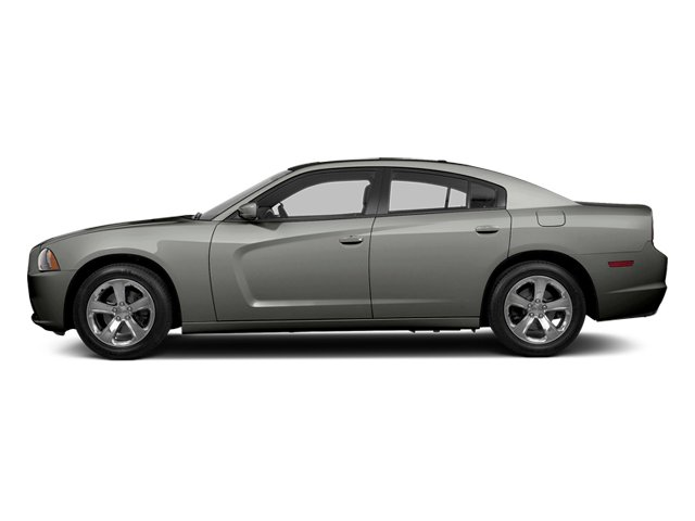 Billet Silver Metallic 2013 Dodge Charger Pictures Charger Sedan 4D R/T AWD V8 photos side view