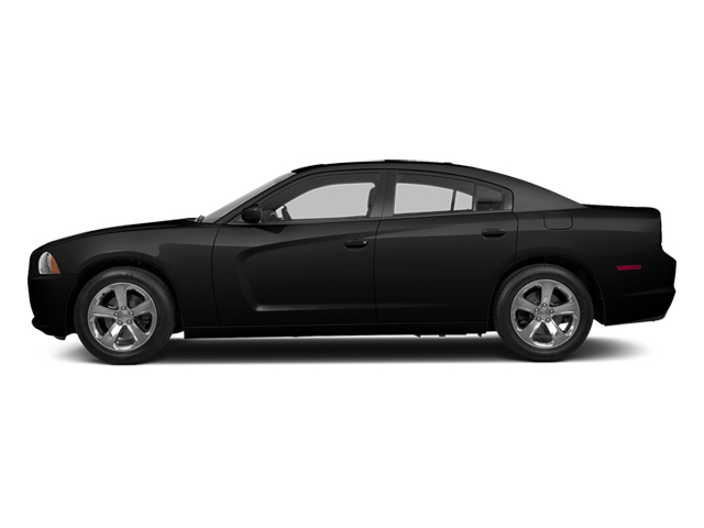 Pitch Black 2013 Dodge Charger Pictures Charger Sedan 4D R/T AWD V8 photos side view