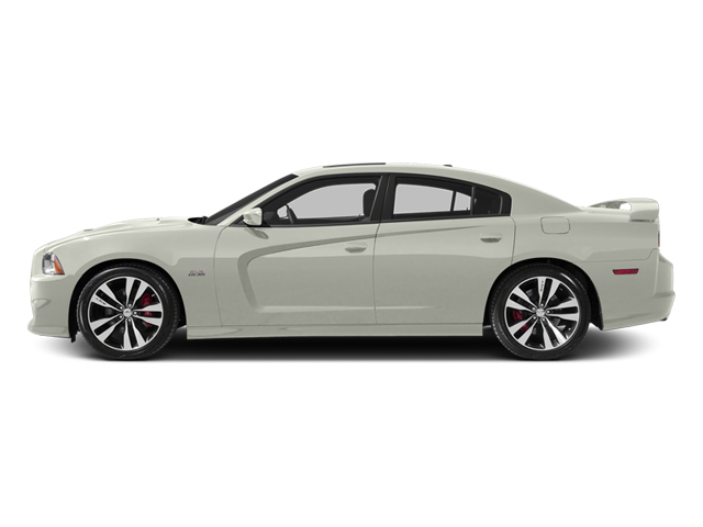 Bright White 2013 Dodge Charger Pictures Charger Sedan 4D SRT-8 V8 photos side view