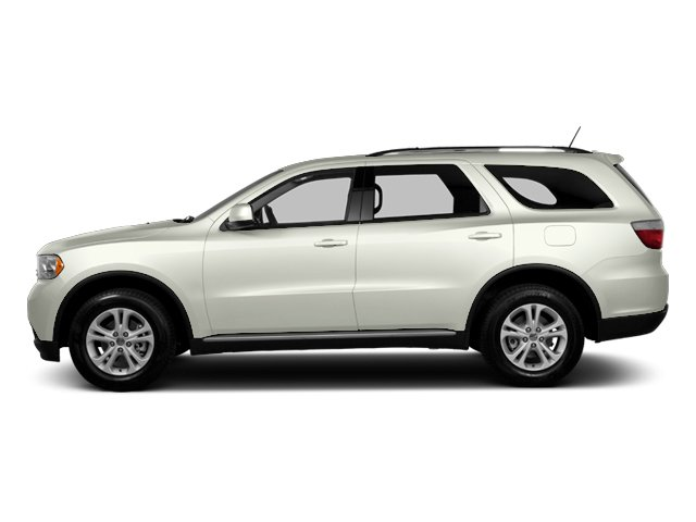 Bright White 2013 Dodge Durango Pictures Durango Utility 4D Crew 2WD photos side view