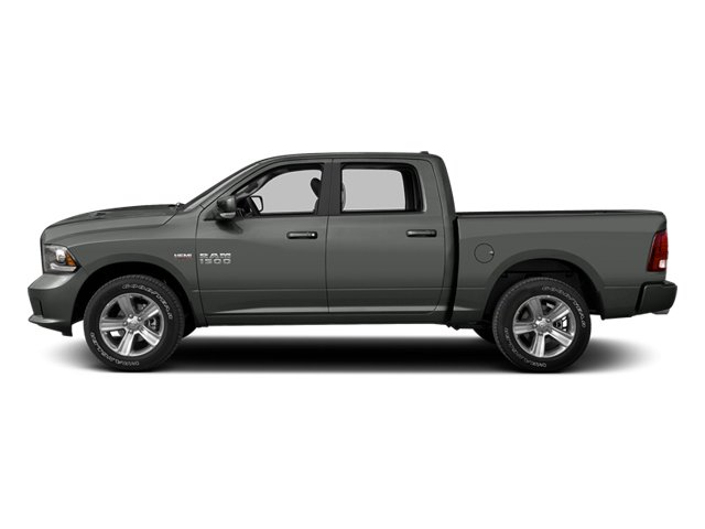 Mineral Gray Metallic 2013 Ram Truck 1500 Pictures 1500 Crew Cab SLT 4WD photos side view