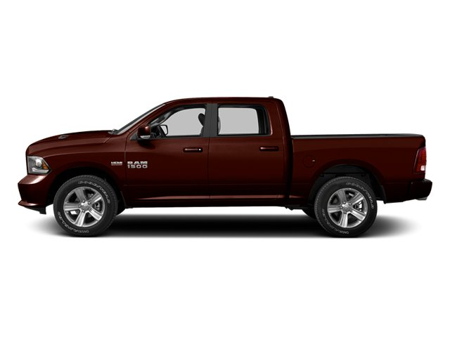 Western Brown 2013 Ram Truck 1500 Pictures 1500 Crew Cab SLT 4WD photos side view