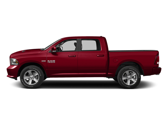 Deep Cherry Red Crystal Pearl 2013 Ram Truck 1500 Pictures 1500 Crew Cab SLT 4WD photos side view