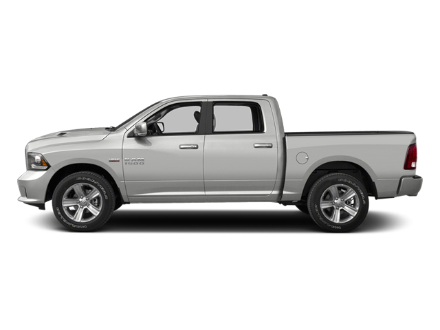 Bright Silver Metallic 2013 Ram Truck 1500 Pictures 1500 Crew Cab SLT 4WD photos side view