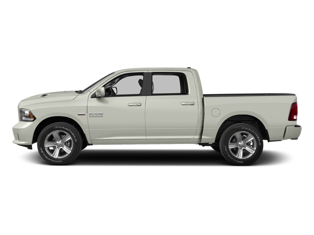 Bright White 2013 Ram Truck 1500 Pictures 1500 Crew Cab SLT 4WD photos side view