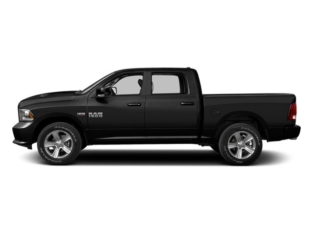 Black 2013 Ram Truck 1500 Pictures 1500 Crew Cab SLT 4WD photos side view