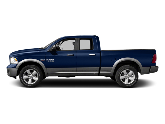 True Blue Pearl 2013 Ram Truck 1500 Pictures 1500 Quad Cab Outdoorsman 2WD photos side view