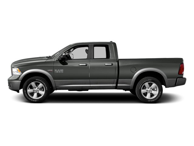 Mineral Gray Metallic 2013 Ram Truck 1500 Pictures 1500 Quad Cab Outdoorsman 2WD photos side view