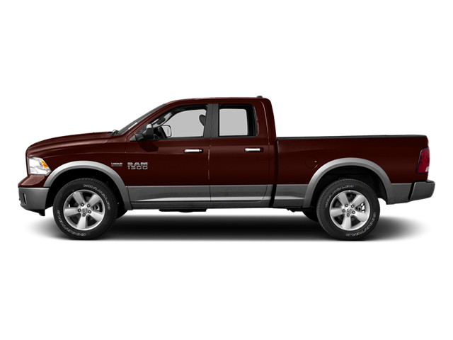 Western Brown 2013 Ram Truck 1500 Pictures 1500 Quad Cab Outdoorsman 2WD photos side view