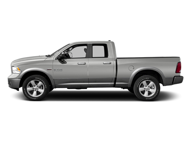 Bright Silver Metallic 2013 Ram Truck 1500 Pictures 1500 Quad Cab Outdoorsman 2WD photos side view