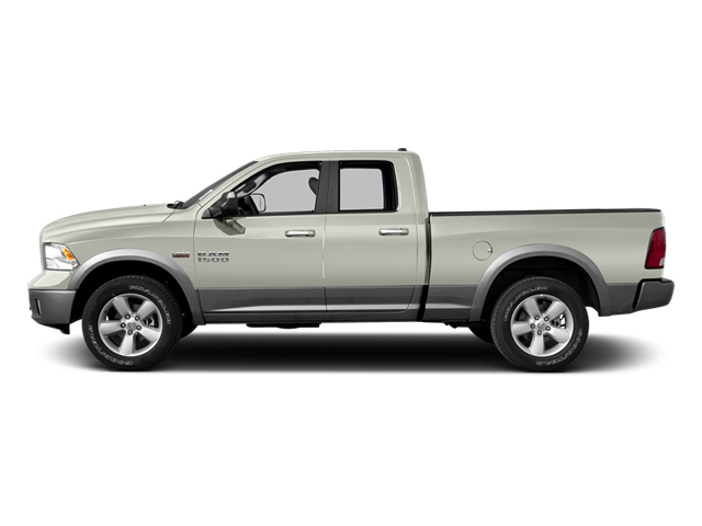 Bright White 2013 Ram Truck 1500 Pictures 1500 Quad Cab Outdoorsman 2WD photos side view