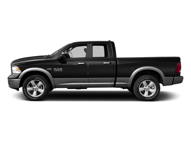 Black 2013 Ram Truck 1500 Pictures 1500 Quad Cab Tradesman 2WD photos side view