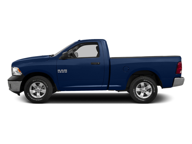True Blue Pearl 2013 Ram Truck 1500 Pictures 1500 Regular Cab SLT 4WD photos side view