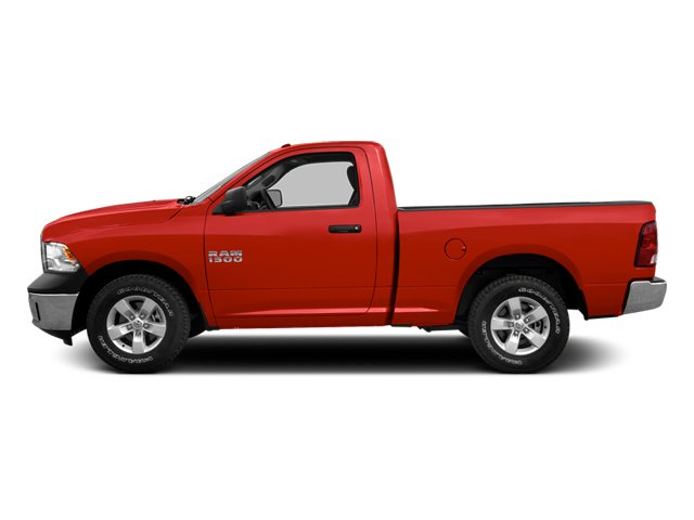 Flame Red 2013 Ram Truck 1500 Pictures 1500 Regular Cab SLT 4WD photos side view