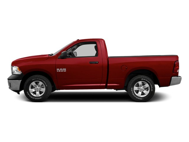 Deep Cherry Red Crystal Pearl 2013 Ram Truck 1500 Pictures 1500 Regular Cab SLT 4WD photos side view