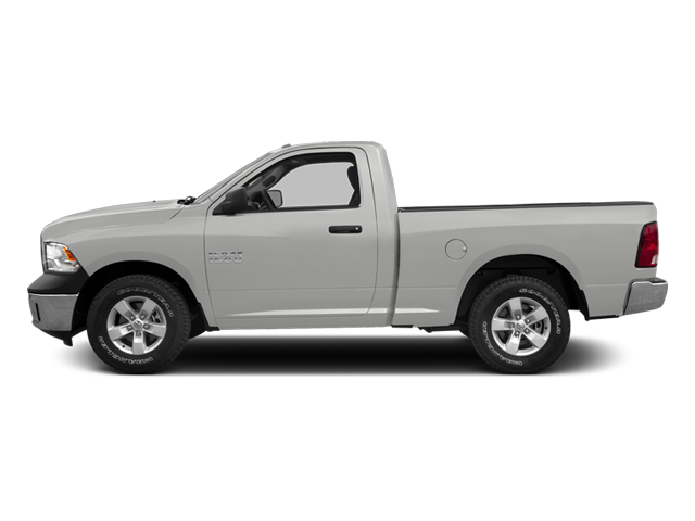 Bright Silver Metallic 2013 Ram Truck 1500 Pictures 1500 Regular Cab SLT 4WD photos side view