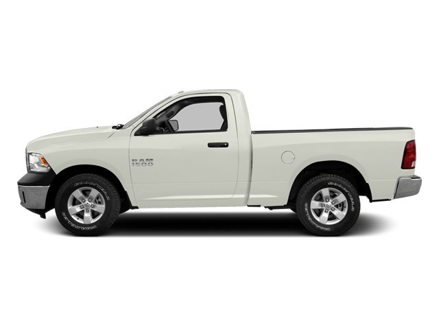 Bright White 2013 Ram Truck 1500 Pictures 1500 Regular Cab SLT 4WD photos side view