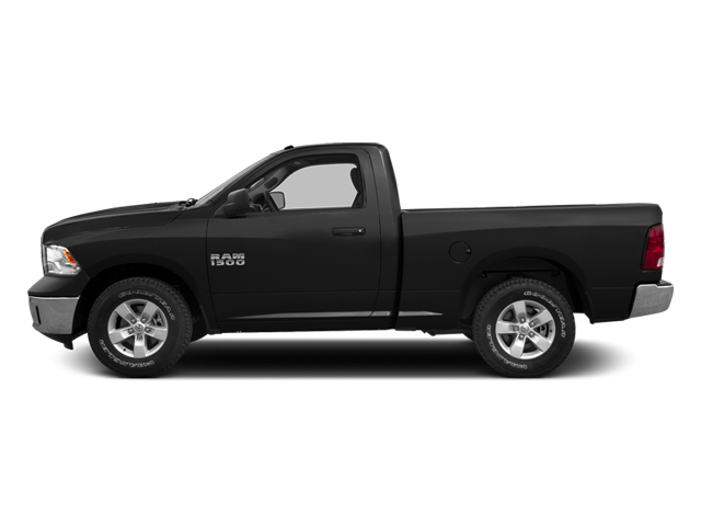 Black 2013 Ram Truck 1500 Pictures 1500 Regular Cab HFE 2WD photos side view