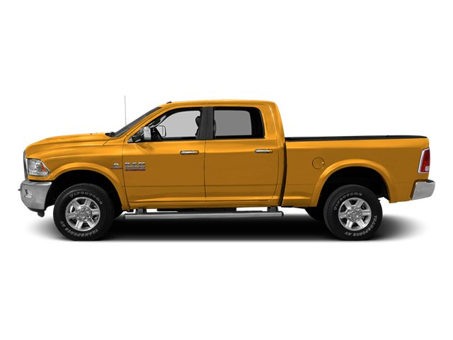 Case Construction Yellow 2013 Ram Truck 2500 Pictures 2500 Crew Cab SLT 4WD photos side view