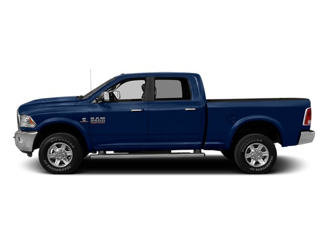 True Blue Pearl 2013 Ram Truck 2500 Pictures 2500 Crew Cab SLT 4WD photos side view
