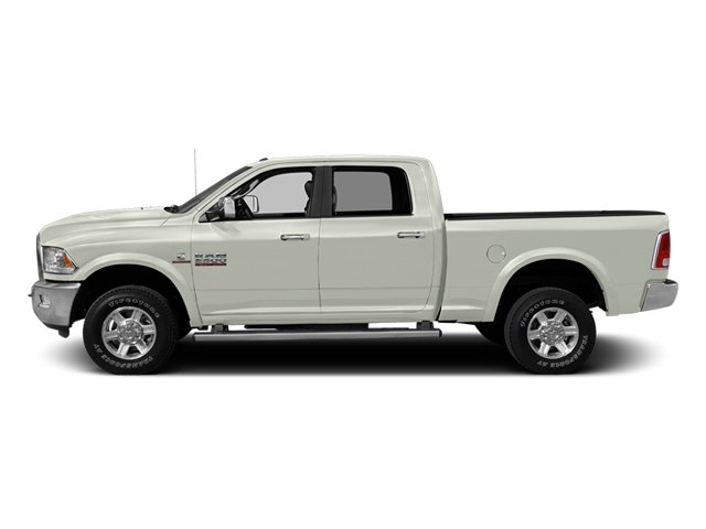 Bright White 2013 Ram Truck 2500 Pictures 2500 Crew Cab Laramie 4WD photos side view