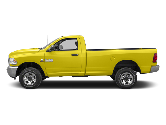 Yellow 2013 Ram Truck 2500 Pictures 2500 Regular Cab SLT 4WD photos side view