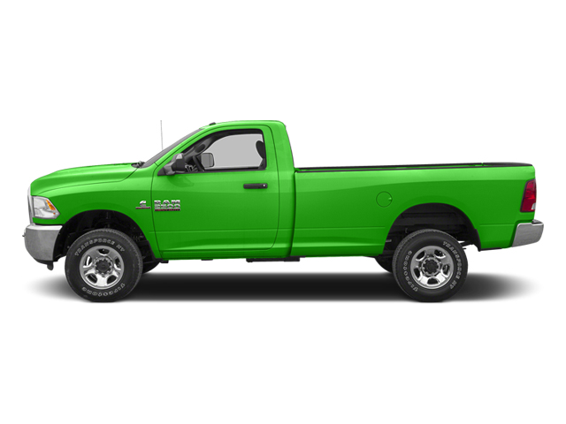 Bright Green 2013 Ram Truck 2500 Pictures 2500 Regular Cab SLT 4WD photos side view