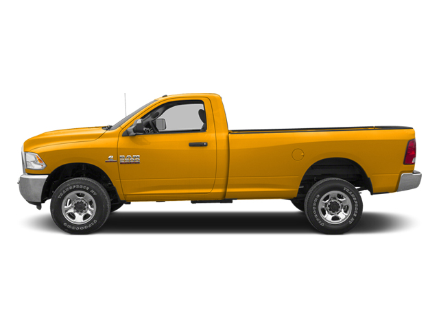Case Construction Yellow 2013 Ram Truck 2500 Pictures 2500 Regular Cab SLT 4WD photos side view