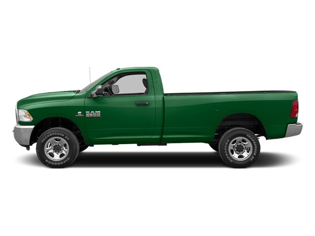 Tree Green 2013 Ram Truck 2500 Pictures 2500 Regular Cab SLT 4WD photos side view