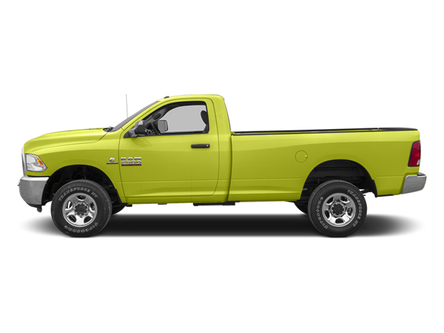 National Fire Safety Lime Yellow 2013 Ram Truck 2500 Pictures 2500 Regular Cab SLT 4WD photos side view
